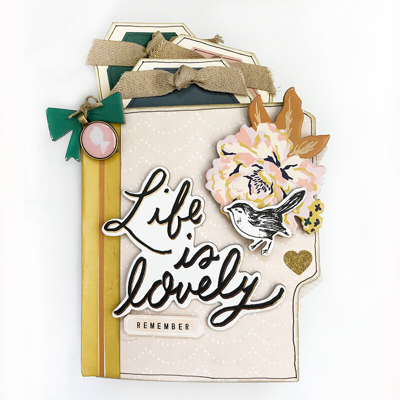 Life Is Lovely Mini Book