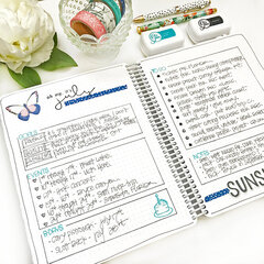 July Bullet Journal - Monthly Overview
