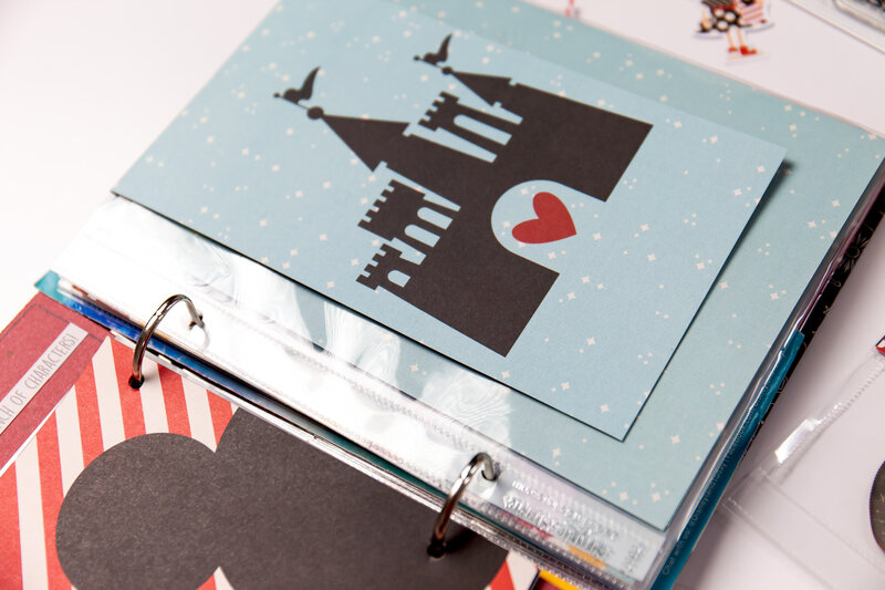 From the FREE Scrapbook.com Class Quick and Easy Disney Photo Albums with Layle Koncar