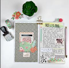 Self Care Travelers Notebook