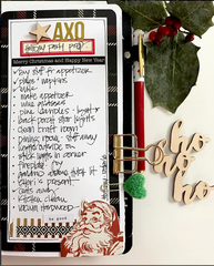 Holiday To Do List - Traveler's Notebook style