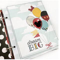 Magical Disney Memories 6x8 Mini Album