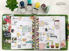 March in my Carpe Diem Planner