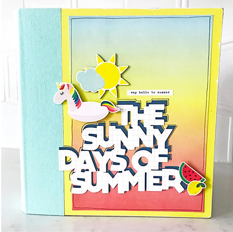 The Sunny Days of Summer 6x8 Mini Album