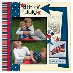 4th of July - NEW Scenic Route LIBERTY!