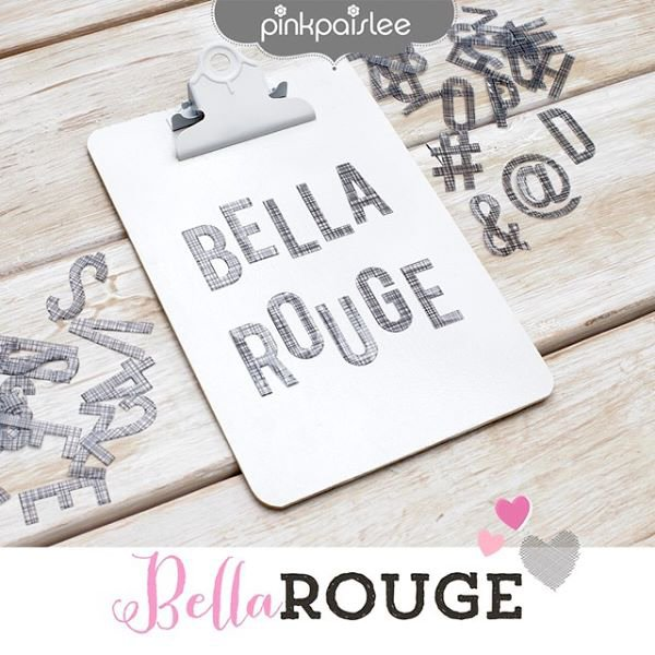 Brand New Bella Rouge from Pink Paislee for American Crafts