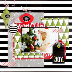 Festive Inspiration featuring the American Crafts Deck the Hall Collection