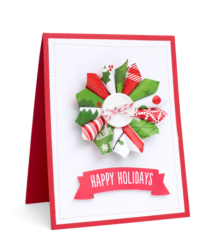 Holiday Inspiration featuring Be Merry from American Crafts