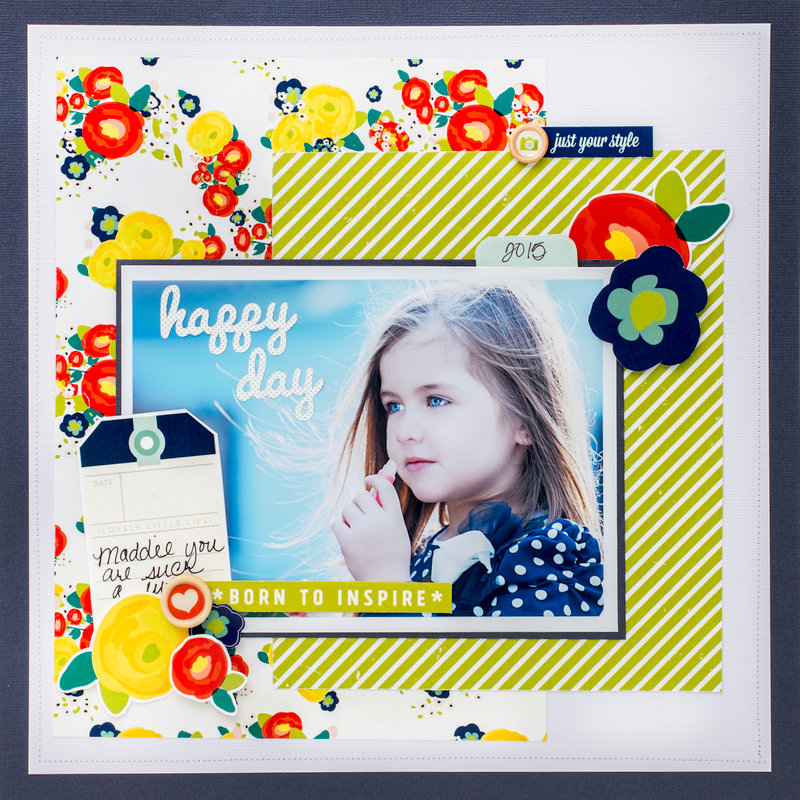 Beautiful Inspiration featuring True Stories by Shimelle for American Crafts