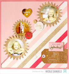 Shimelle Layout by Nicole Samuels