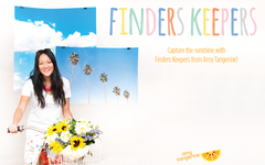 Finders Keepers Collection by Amy Tangerine for American Crafts