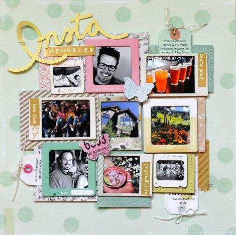 Insta Memories from Crate Paper DT Member Lisa Dickinson