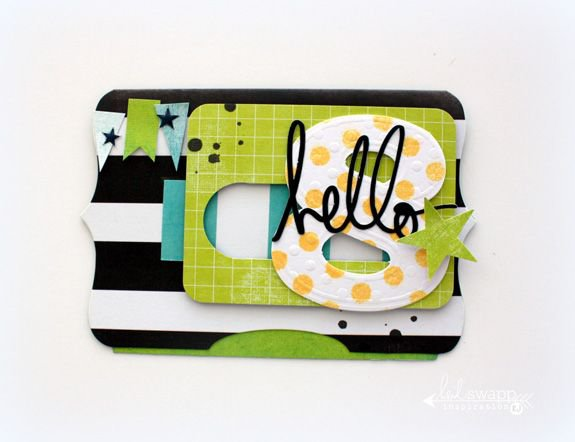 Becky Higgins/Heidi Swapp Project Life Slider Card