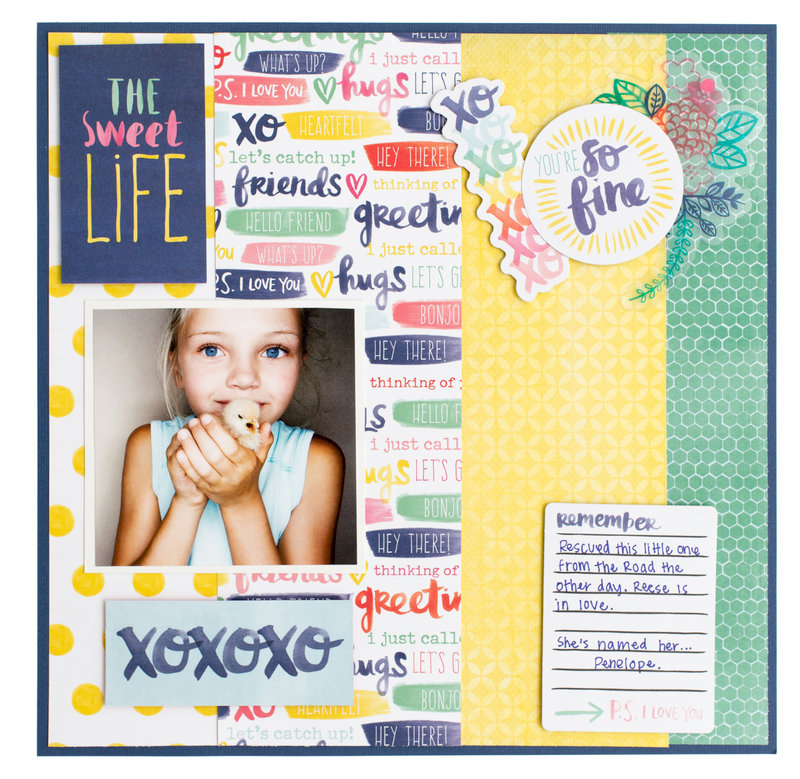 Better Together Collection by Amy Tangerine for American Crafts