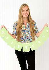 DIY Party Banners - American Crafts has you covered!