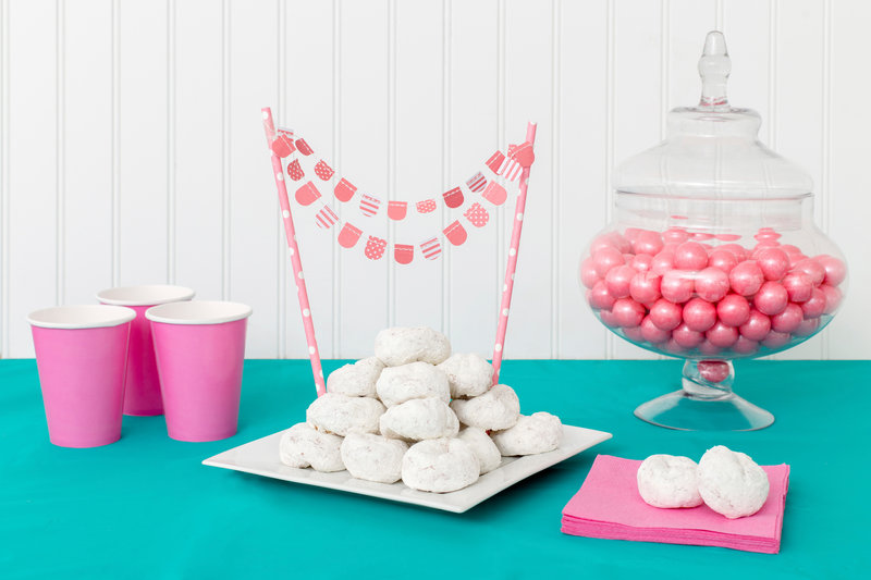 American Crafts DIY Party Party Straws and Decorative Trims