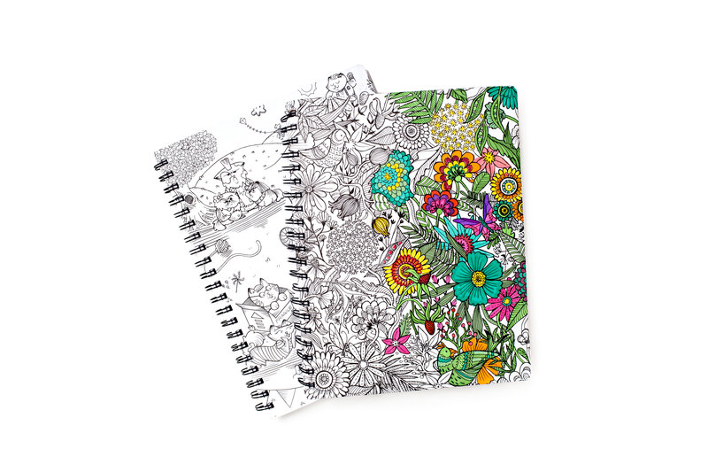Coloring Craze - Show your creative side with AC Hall Pass and Adult Coloring Products