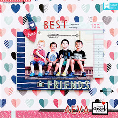 Best Friends Layout