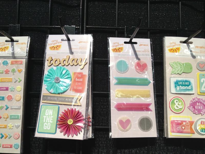 Brand New Winter CHA 2013 American Crafts Amy Tangerine