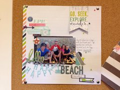 Beach LO with Heidi Swapp Favorite Things Collection