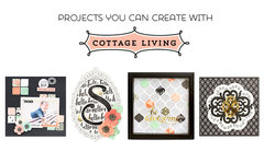 Projects You Can Create with Cottage Living from Pebbles for American Crafts