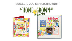 Projects You Can Create with Homegrown from Pebbles for American Crafts
