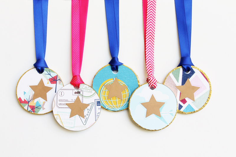 Go Now Go Collection Medals