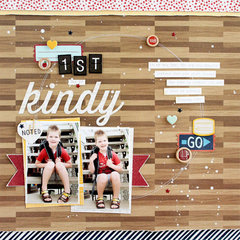 Back to School Layout with Go Now Go!