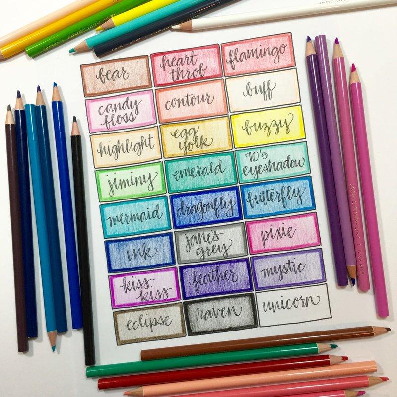 Jane Davenport Magic Wand Color Chart