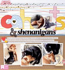 Cahoots & Shenanigans Layout