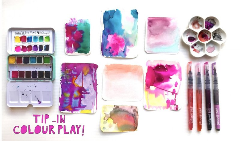 Journal Cards made with Color Play