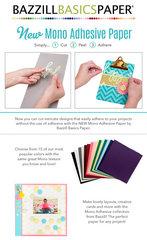New Bazzill Basics Mono Adhesive Paper