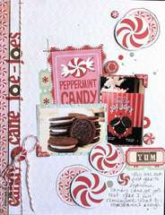 "Candy Cane ""joe-joes"" by Lexi Bridges"