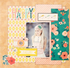 Have you seen the Wonder Collection from Crate Paper for American Crafts?