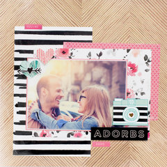Lovely Projects featuring the NEW Hello Love Collection from Crate Paper