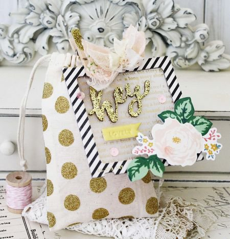 Crate Paper Craft Market Party Treat Bag and Tag from CP Gal, Melissa Phillips