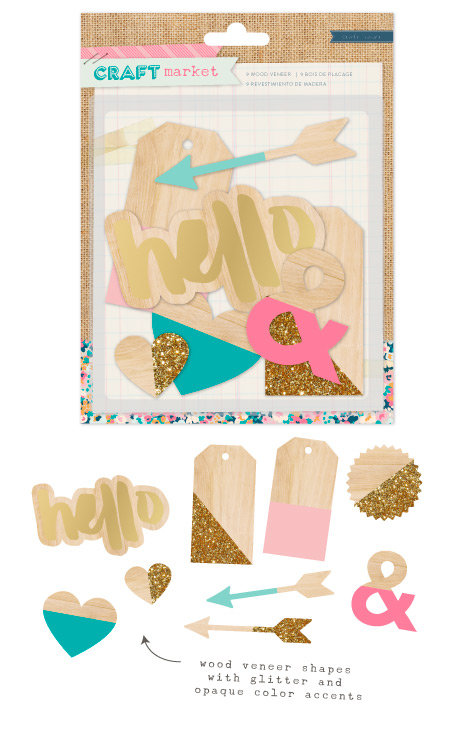 New Craft Market Collection from Crate Paper for American Crafts