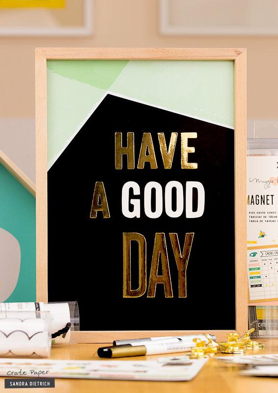 Elegant Message Display Board with Magnet Studio