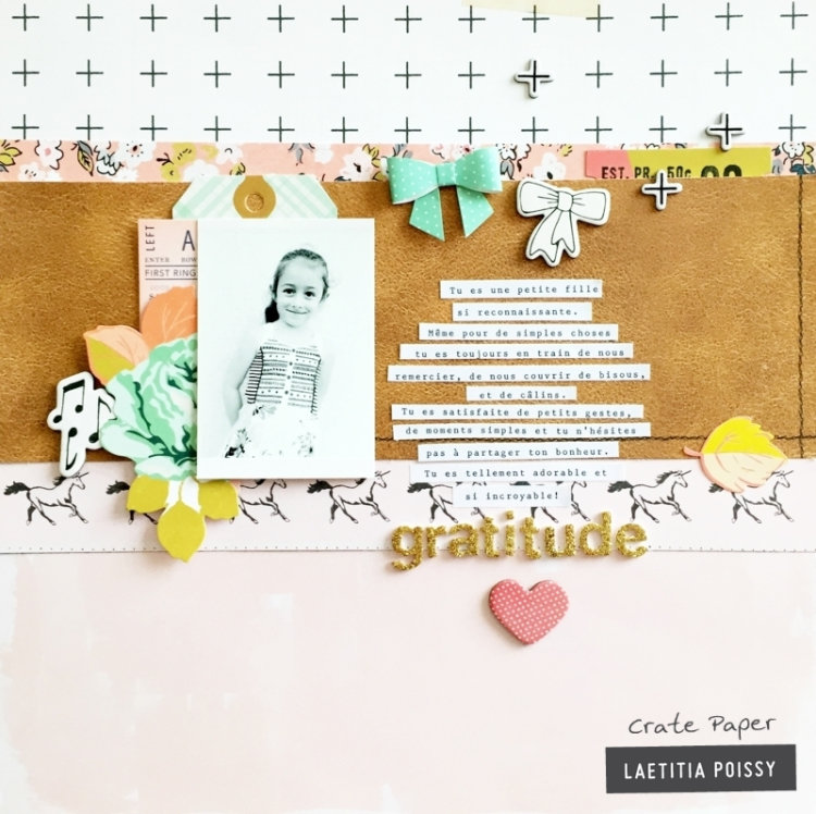Gratitude: Patterned Layout