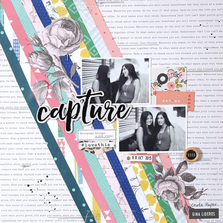 Colorful Capture Layout