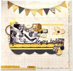 Crate Paper enjoy today layout