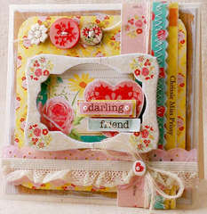 "Crate Paper Card ""Darling Friend"""