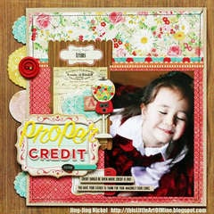 "Crate Paper ""proper credit"" layout"
