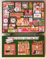 Crate Paper Snow Day advent calendar by Larissa Albernaz