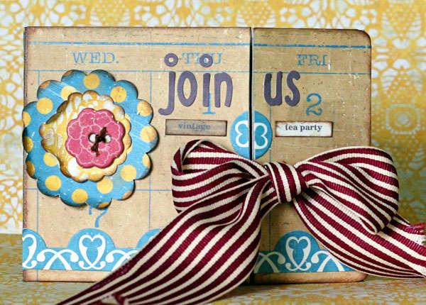 Crate Paper Restoration Card by Lori Gentile
