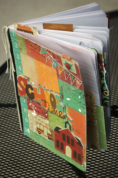 An Altered Composition Notebook by Lucy Edson