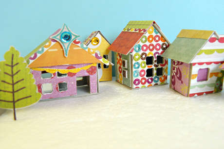 """Crate Paper """"Snow Day Villa"""" by Milagros Rivera"""