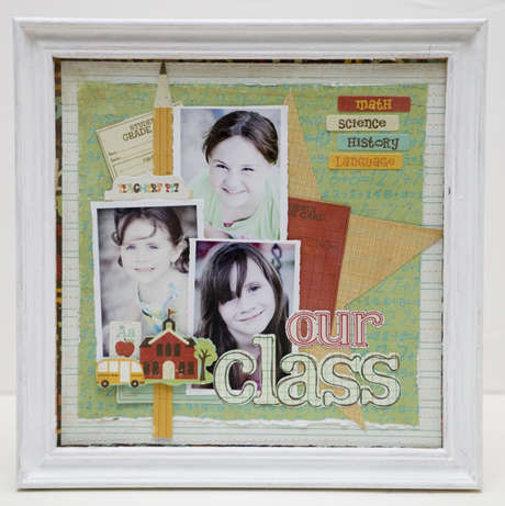 Crate Paper Framed Layout by Jaime Warren