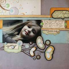 Little Lady using the Sweet Branch Collection from Crate Paper