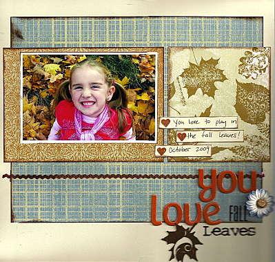 You love fall leaves